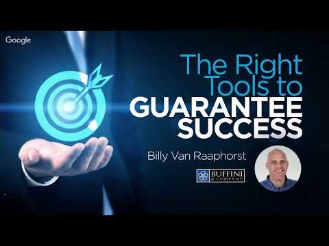 The Right Tools to Guarantee Success – feat. Buffini & Co – Sales Success 2018