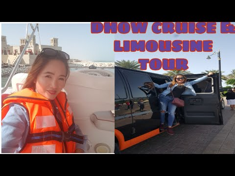 Dhow Cruise & Limousine Tour Dubai