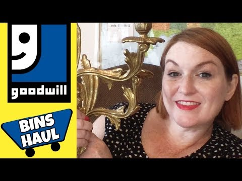 Goodwill Bins Haul | $16 into $200 | Goodwill Outlet Haul to Resell | Reselling on Ebay 2019