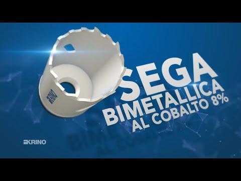 Presentazione Sega Bimetallica Cobalto 8% – art. 21090 – Krino Cutting Tools