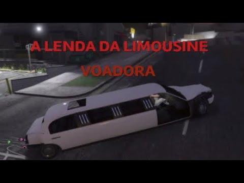 A LENDA DA LIMOUSINE VOADORA