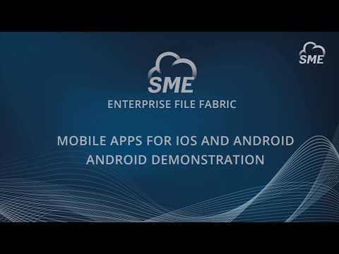 Enterprise File Fabric Demo – Client Tools: Mobile
