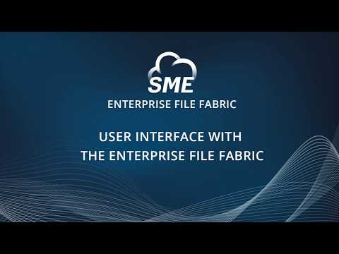 Enterprise File Fabric Demo – Client Tools: Web File Manager