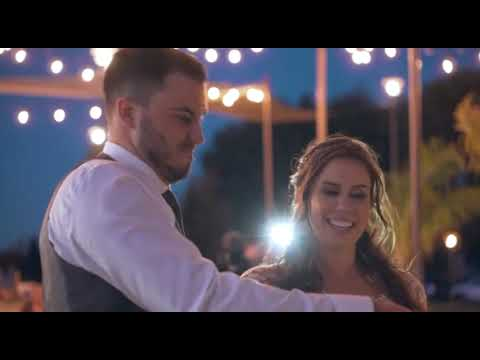 Christina & Nick Wedding Video Miners Leap with Fretty's DJ & Limousine Service