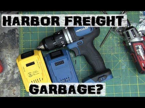 BOLTR: Dirty Secrets of Harbor Freight HERCULES | Better than DeWALT?
