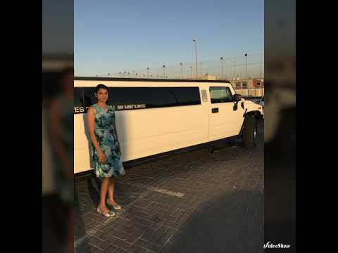 Birthday Party in Limousine # Dubai Mall..