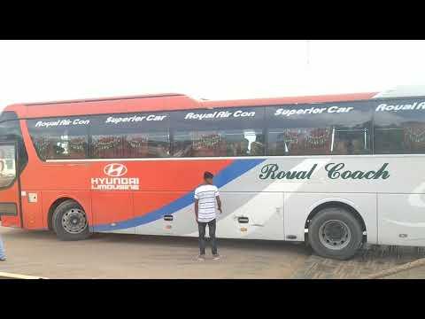 Royal Coach Air Con Hyundai Limousine Ac Bus View To Ferry Ghat | Part-2 | Bd Bus Loving