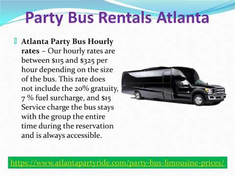 Best Wedding Limousine Atlanta | Atlanta Party Ride