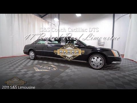 "2011 S&S Coach Cadillac DTS 47"" Raised Roof Limousine(BU550431)"