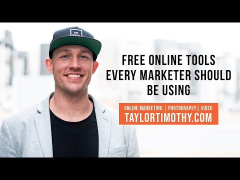 Free Online Tools Every Marketer Should be Using