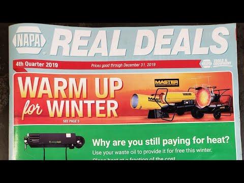 NAPA Real Deals Tool Flyer 4th Quarter