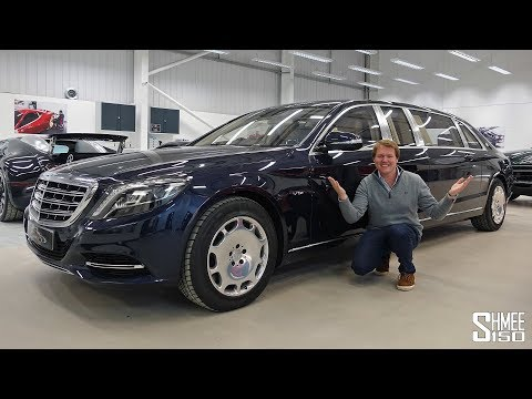 The Maybach S600 Pullman is the Most Opulent Limo EVER!