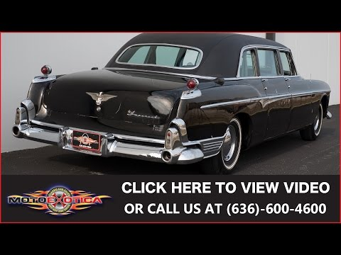 1955 Chrysler Imperial Limousine || SOLD