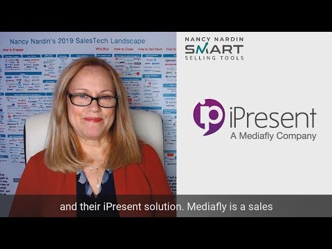 Mediafly iPresent Easy, Risk-Free Sales Enablement – Nancy Nardin Review