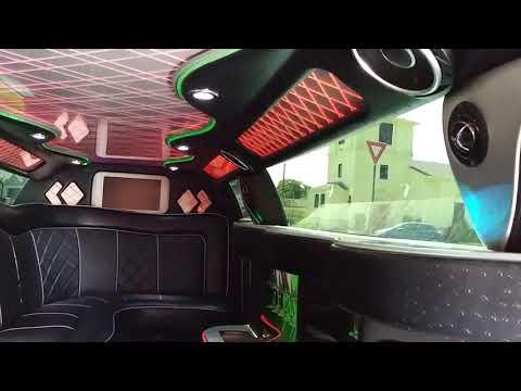 2013 White 140-inch 5 Door Chrysler 300 limousine #1249