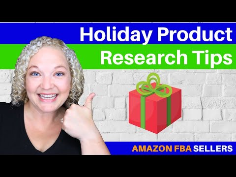 Holiday Product Research Tips