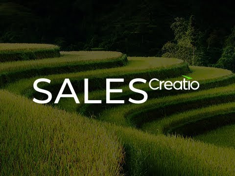 Creatio (formerly bpm'online) sales demo video
