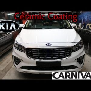 How To Protect KIA CARNIVAL LIMOUSINE With 9H Crystalshield Ceramic Coating | Process | H2O Carzspa✅