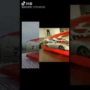 #carcapsule Outdoor inflatable car garage wholesale car cover car capsule