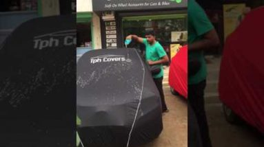 Waterproof car body cover
