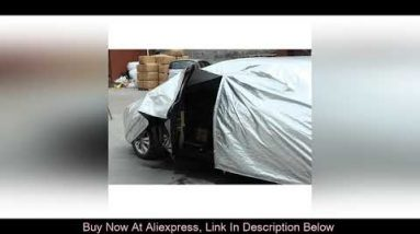 Review Kayme Waterproof full car covers sun dust Rain protection car cover auto suv protective for