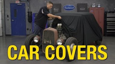 Protect Your Ride – Super Stretch Car Covers – Universal Covers Available in 3 Sizes! – Eastwood