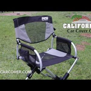 GCI Outdoor Pico Chair The Compact Folding Director's Chair 18020 at California Car Cover