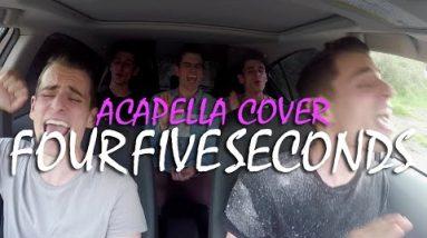 FourFiveSeconds – Acapella Car Cover