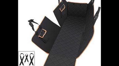 Dog Car seat Cover Hammock Waterproof 4 Layers Mat Rear Back Seat Cushion Cover UK