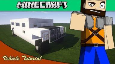 Minecraft Vehicle Tutorial – Hummer Limousine